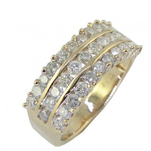 1.40Ct SI1-2 Real Diamond Jewelry Anniversary Wedding Ring Band