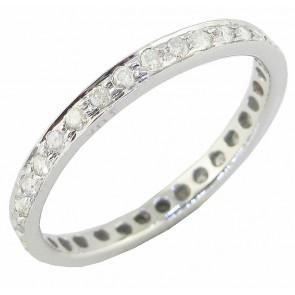 0.40Ct VS Round Diamond Jewelry 18K Excellent Hoop Huggie Earrings