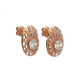 0.50ctw SI1-2 diamond studs earrings white gold