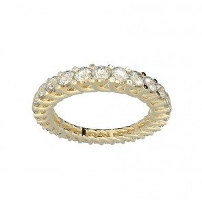 1.40ct VS 18k Eternity Anniversary Ring Band