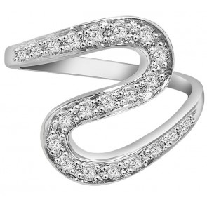 0.50Ct SI1-2 Round Diamond 18k Jewelry Right Hand Wedding Ring