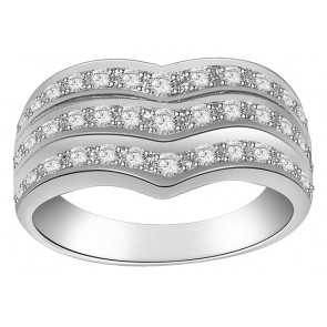 1.10Ctw VS Right Hang Engagement 18k Wedding Diamond Ring
