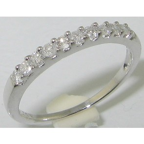 0.30Ct SI1-2 Diamond 18Kt Solid Gold Engagement Stackable Ring Band