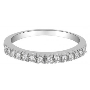 0.40ct SI1-2  Genuine Diamond Jewelry 18k Engagement Stackable Ring
