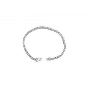 3.00Ct SI1-2  Round Diamond Jewelry 14K Solid Gold Excellent Tennis Bracelet