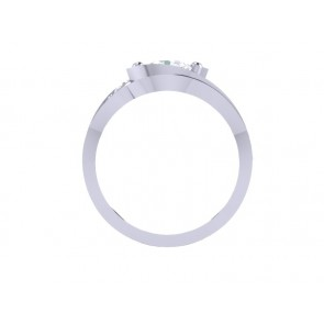 1.80ct SI1-2 Unique Bridal Ring Engagement Set Band Not Enhanced Diamond 18K Gold